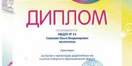 Диплом Сибирский образовательный форум 2019_0006
